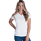 Load image into Gallery viewer, 1507 Ladies V-Neck Sublimation White T-shirt - SubliVie