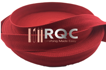 Red Cotton Webbing 32mm / 1.25