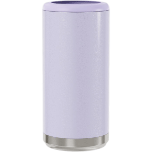 Glitter Lilac Save a Cup Skinny Can Holders