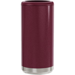 Glitter Rosewood Save a Cup Skinny Can Holders