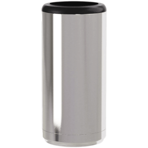 Silver Save a Cup Skinny Can Holders