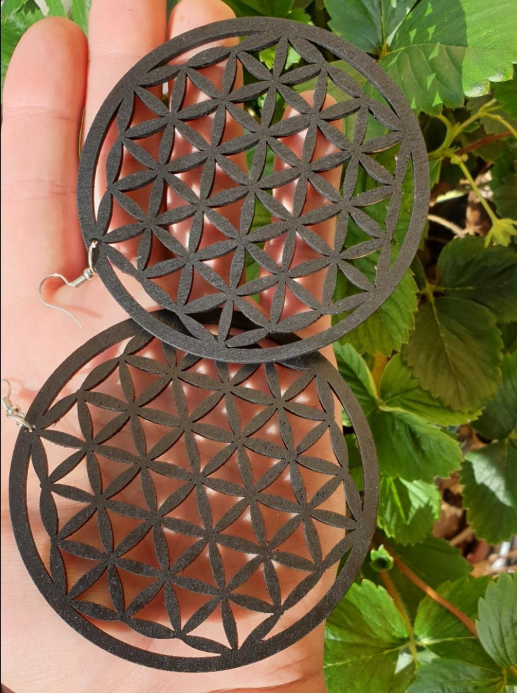 Örhänge flower of life
