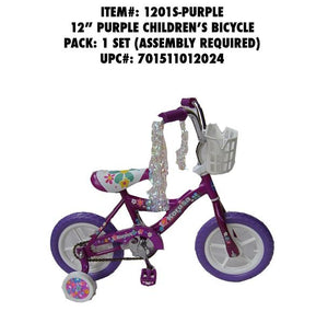 "12""WHEEL CHILDREN BMX BIKE PURPLE"