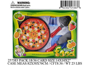 "14X2X10""PIZZA PLAYSET"