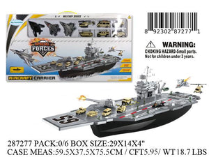"29X14X4""SPECIAL FORCE BATTLE SHIP AIRCRAFT CARRIER"