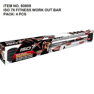 ISO 7X FITNESS WORK OUT BAR