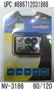 6LED HEADLIGHT