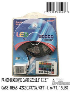 5M 3 COL R.G.B. LED STRIP LIGHT