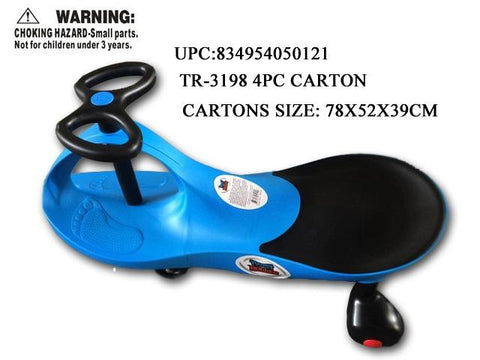 TWISTER ROLLER RIDE ON-BLUE