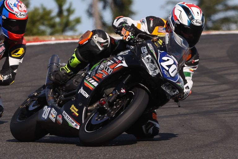 MotoAmerica: McDonald On Provisional Twins Cup Pole At Laguna