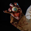 ICU static Halloween prop by Distortions Unlimited bloody eyeball close up