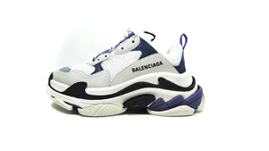 Triple S in White, Blue & Purple