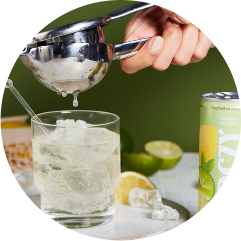 Lemon & Lime hard seltzer Berczy