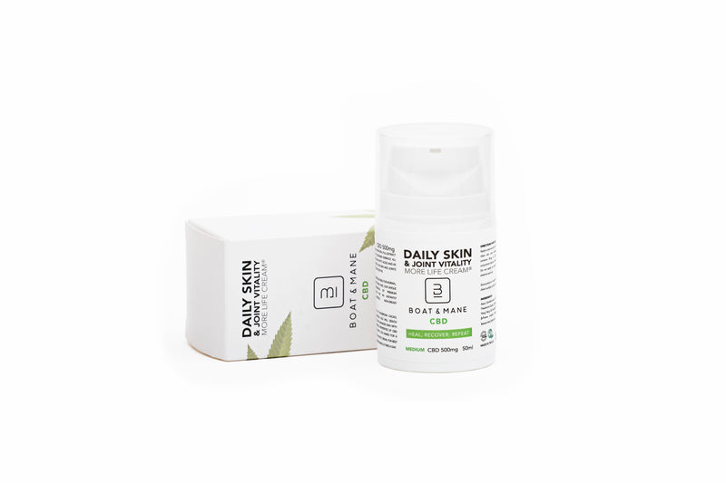 Clinically Proven Super-Hydrating, Protecting & Healing CBD Cream (500mg)