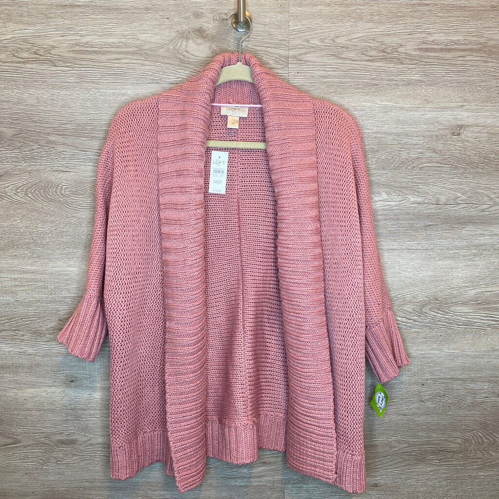 MP: NWT Dusty Pink Chunky Knit Cardigan