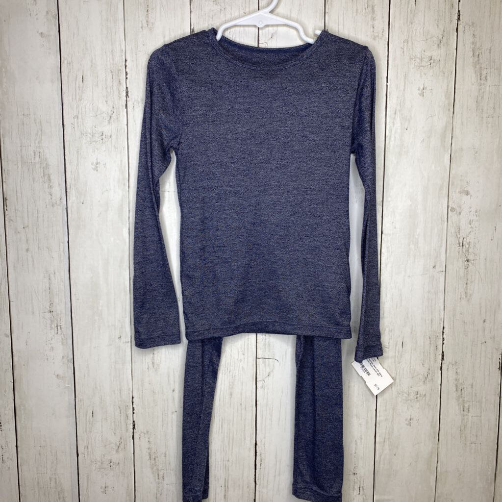 4/5: Navy Heather Base Layer Set