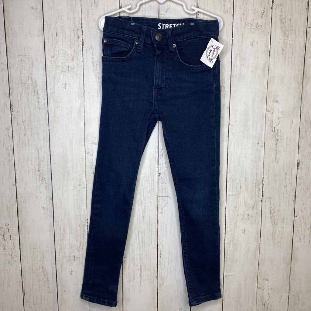 5-6Y: Dark Wash Stretch Jeans