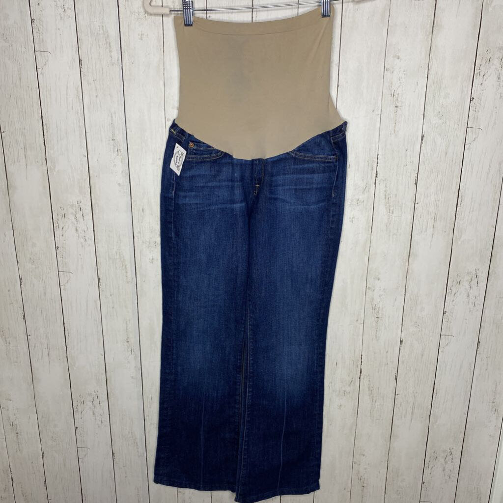 Size 30: Pull Panel Boot Cut Jeans
