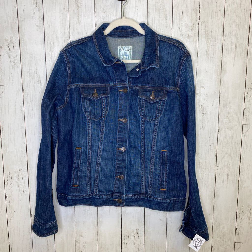 XL: Classic Denim Jacket