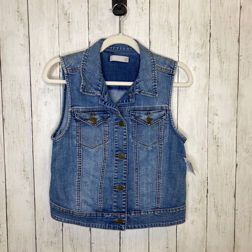 M: Denim Button-Up Vest