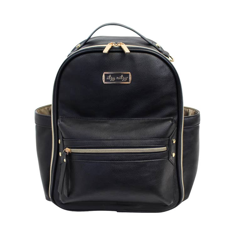 Black Diaper Bag Backpack