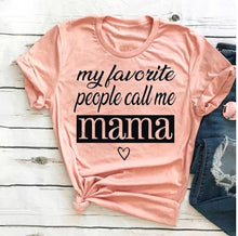 Load image into Gallery viewer, Short Sleeve Mama Tee