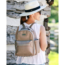 Load image into Gallery viewer, Taupe Diaper Bag