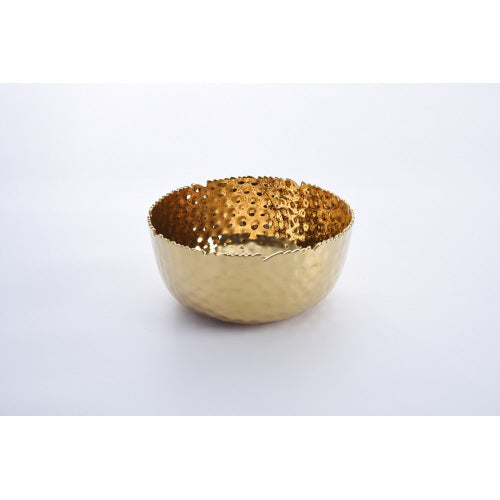 Pampa Bay Golden Millenium Large Round Bowl
