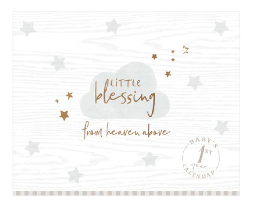 Little Blessing - Baby's First Year Calendar