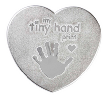 Load image into Gallery viewer, Heart First Prints Kit - Plaster My Tiny Hand