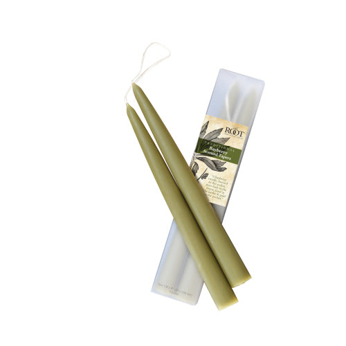 Root Candle Bayberry Taper - 2 pk - Traditional Dip