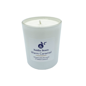 Warm Caramel Plant Wax Room Candle, Home Fragrances