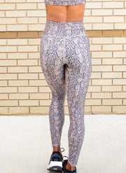 ECO SHEEN PRINT 7/8 LEGGING