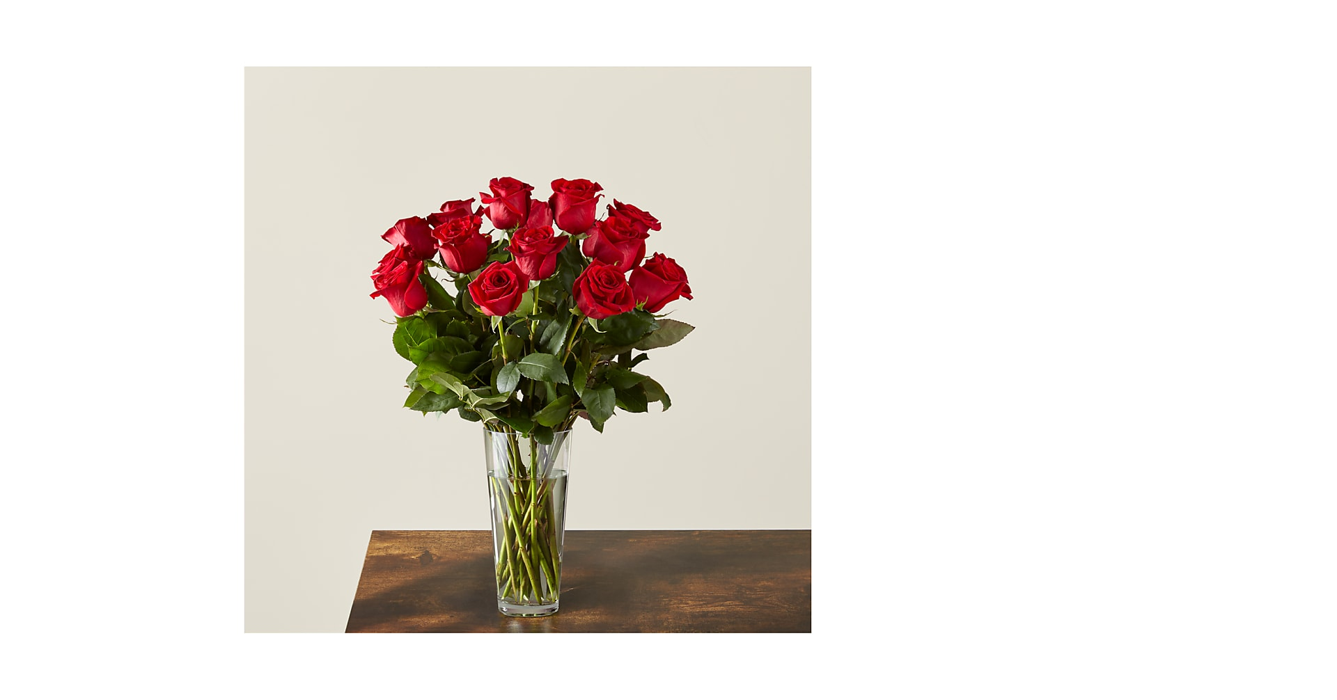 Long Stem Red Rose Bouquet - Image 1 Of 3