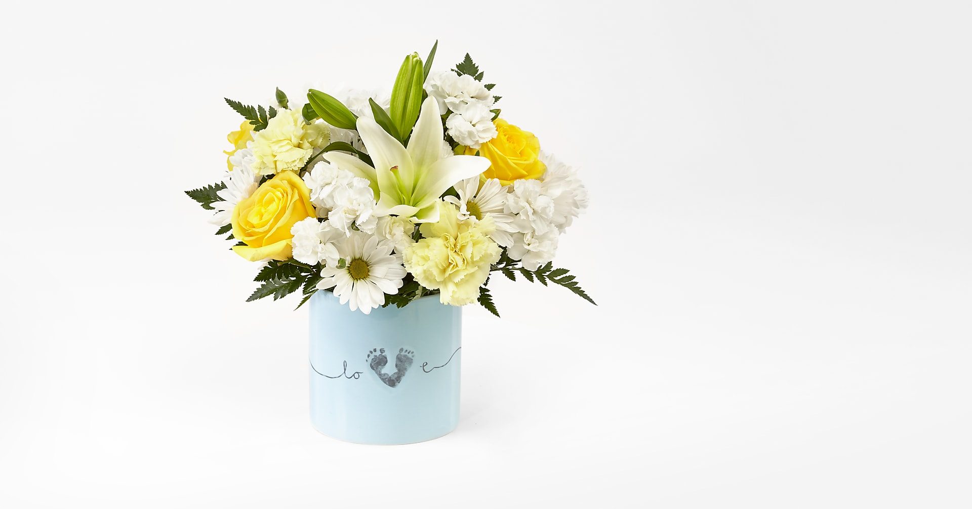 Tiny Miracle™ New Baby Boy Bouquet - Image 1 Of 2