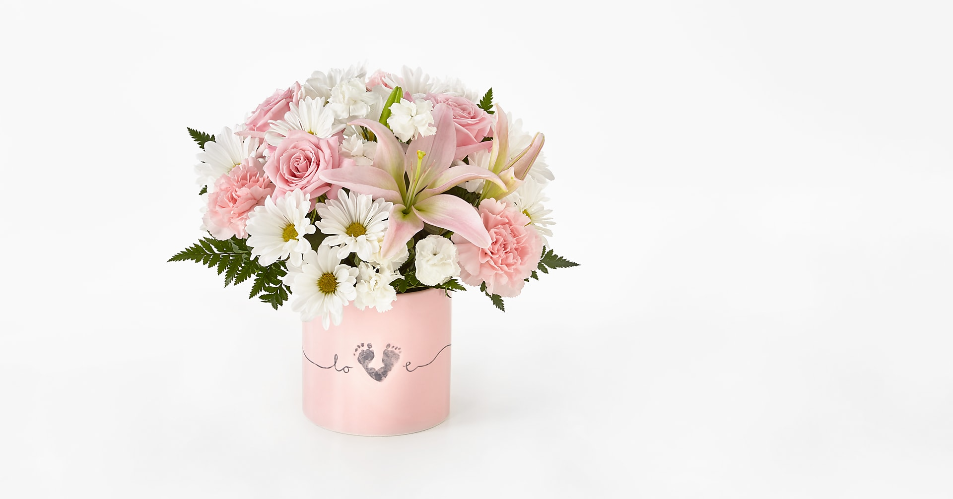 Tiny Miracle™ New Baby Girl Bouquet - Image 1 Of 3