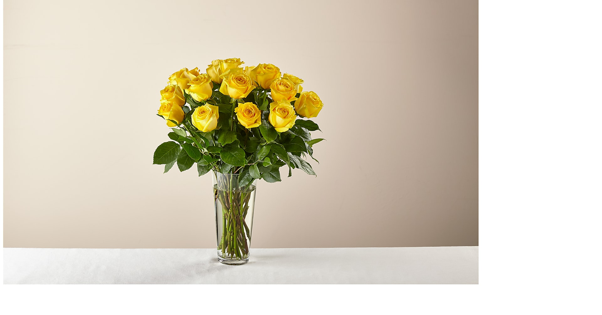 Long Stem Yellow Rose Bouquet - Image 2 Of 4