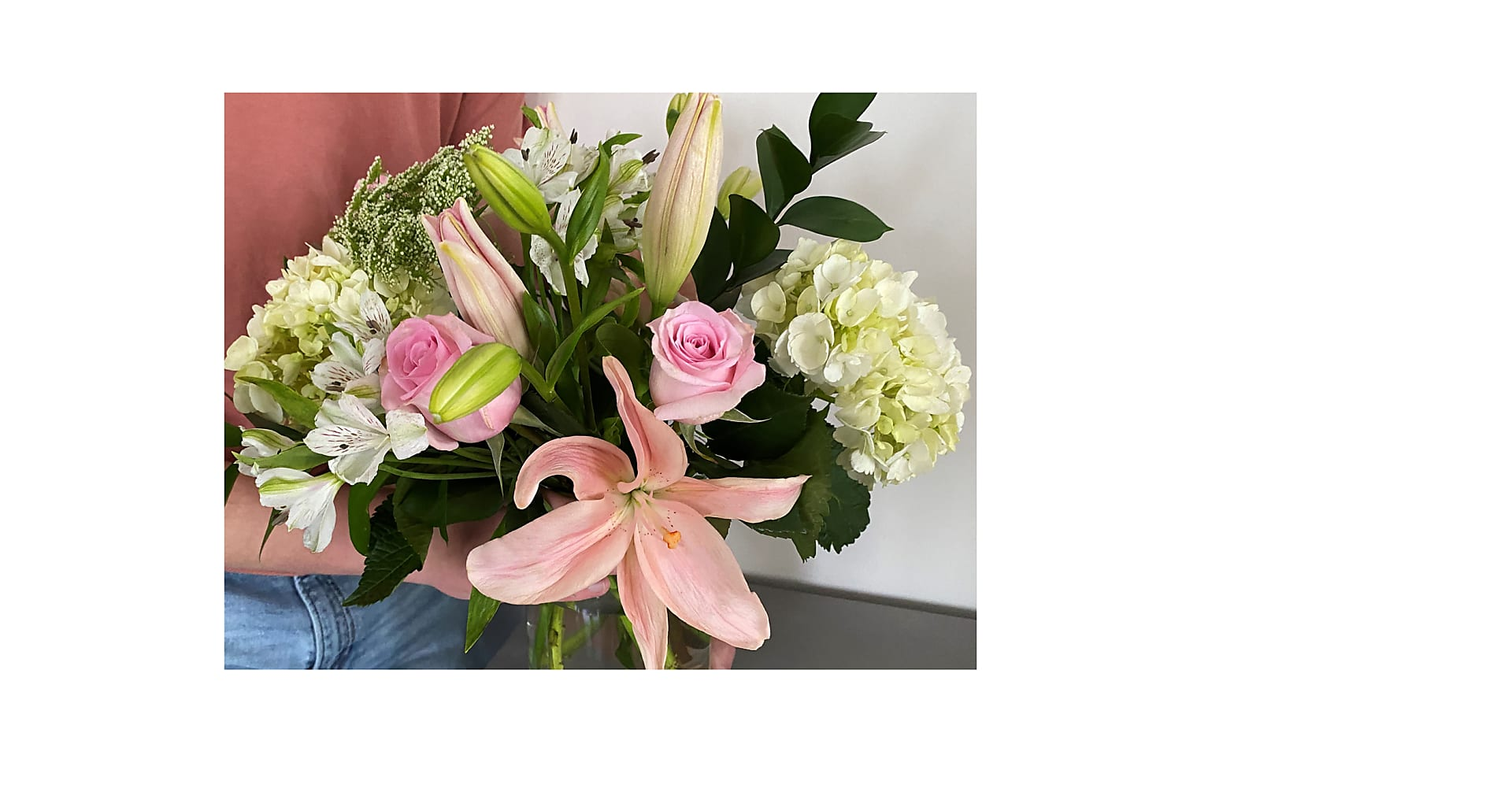 Summer Lovin' Bouquet with Vase - Image 2 Of 2