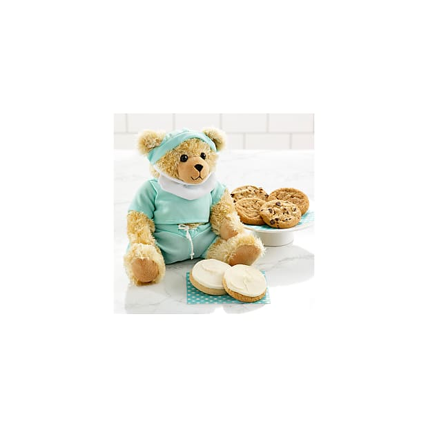 Mrs. Fields® Get Well Bear with Cookies