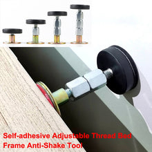 Load image into Gallery viewer, 1pcs Self-adhesive Adjustable Thread Bed Frame Anti-Shake Tool Fixed Bed anti-squeaking Telescopic Support Hardware Fasteners