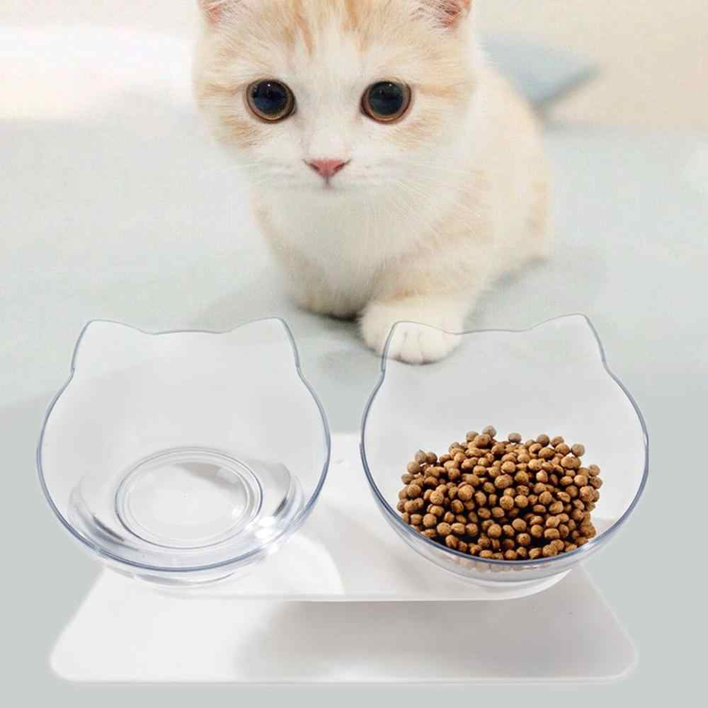 Double Pet Bowl With Raised Stand