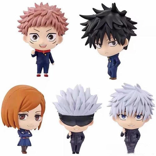 Pack de 5 figurines Jujutsu Kaisen - Sunpō Shop