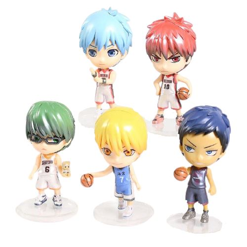 Pack de 5 figurines Kuroko's Basketball - Sunpō Shop