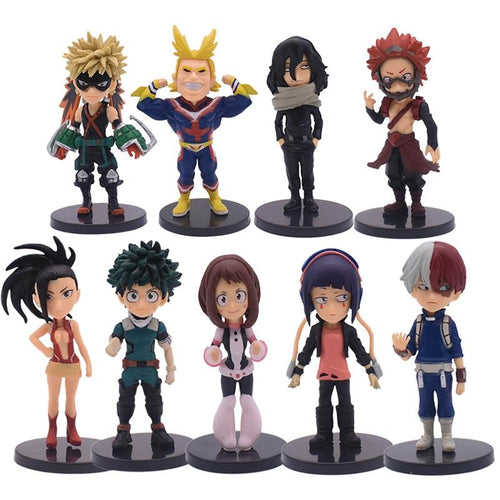 Pack de 9 figurines My Hero Academia - Sunpō Shop