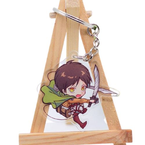 Porte-clés Attack On Titan - 6 Personnages - Sunpō Shop