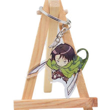Upload image to gallery, Porte-clés Attack On Titan - 6 Personnages - Sunpō Shop