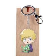 Upload image to gallery, Porte-clés Mob Psycho 100 - 4 Personnages - Sunpō Shop