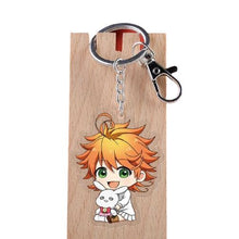 Carica l'immagine nel visualizzatore di Gallery, Porte-clés The Promised Neverland - 6 Personnages - Sunpō Shop