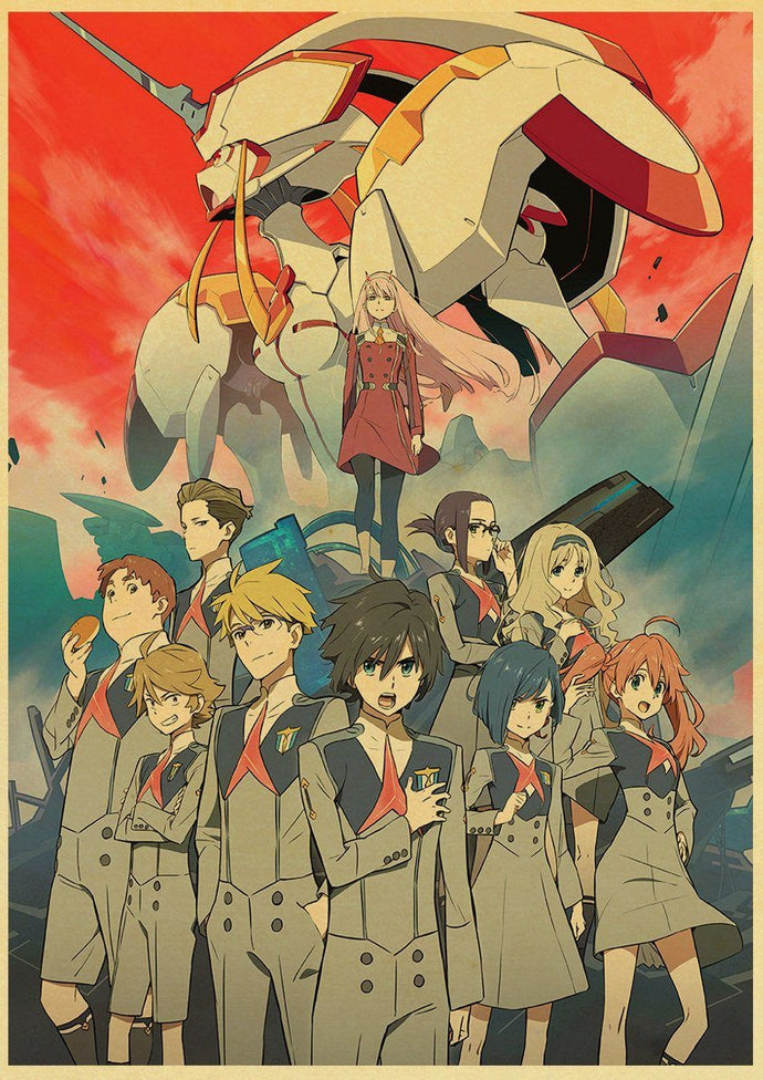 Posters Darling in the Franxx - 16 Motifs - Sunpō Shop