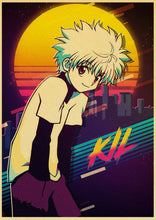 Upload image to gallery, Posters Hunter x Hunter - 19 Motifs - Sunpō Shop